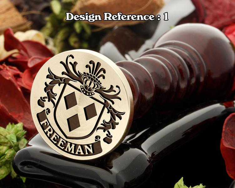 Freeman (Ireland) Wax Seal Design