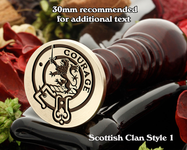Cumming Scottish Clan Wax Seal D1