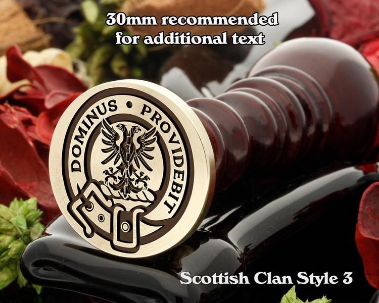 Boyle Scottish Clan Wax Seal D3