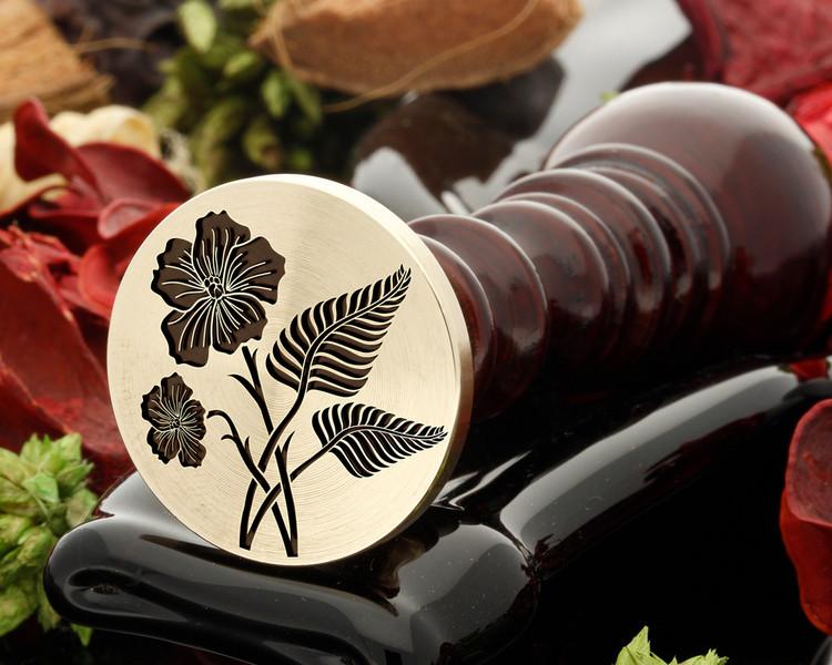 NI Flax and NI Fern Wax Seal Stamp