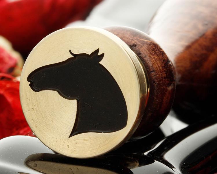 Horse Head wax seal stamp