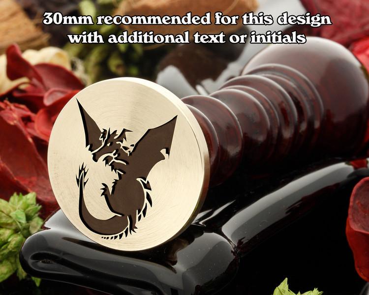 Dragon D2 Wax Seal Stamp