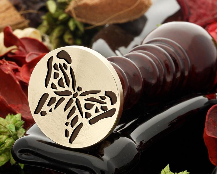 Butterfly 4 Wax Seal