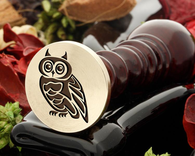 Owl 4 wax seal