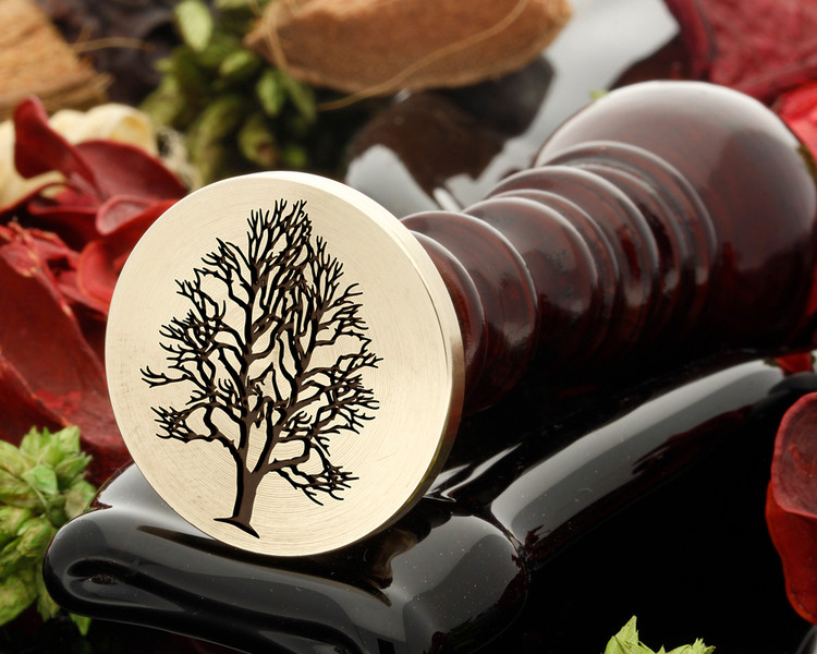 Ash tree was seal stamp