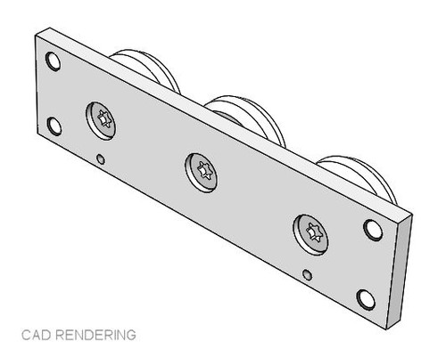 PAX40-3 Stainless Steel Slider Assembly Rendering