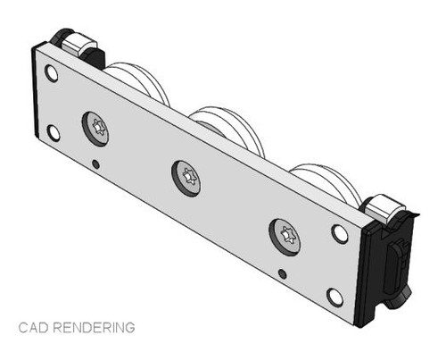 PAX40-3T Stainless Steel Slider Assembly with End Seals