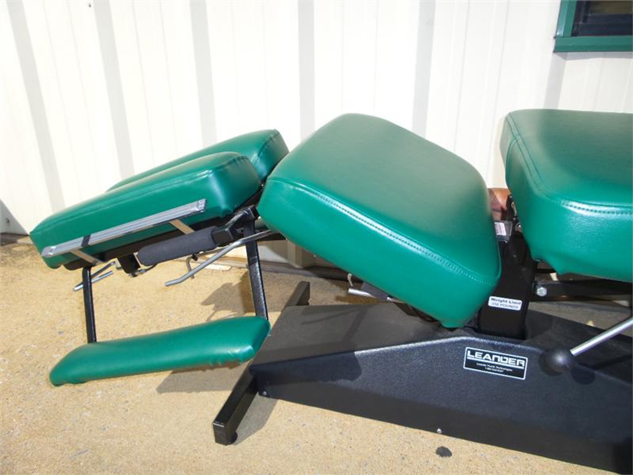 Used Leander Stationary Bench with  Breakaway & Pelvic Drop