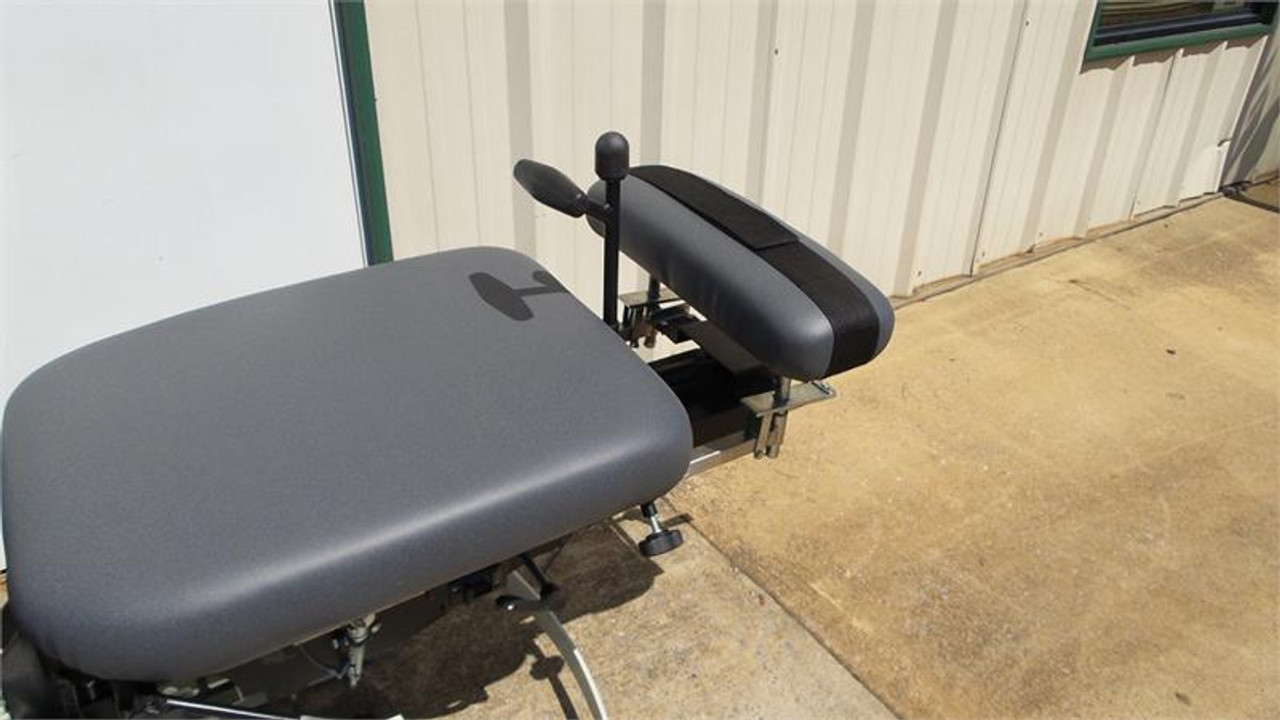 Used Chattanooga Ergo Flexion Elevation Table 4 Drops- MIdnight Gray Top