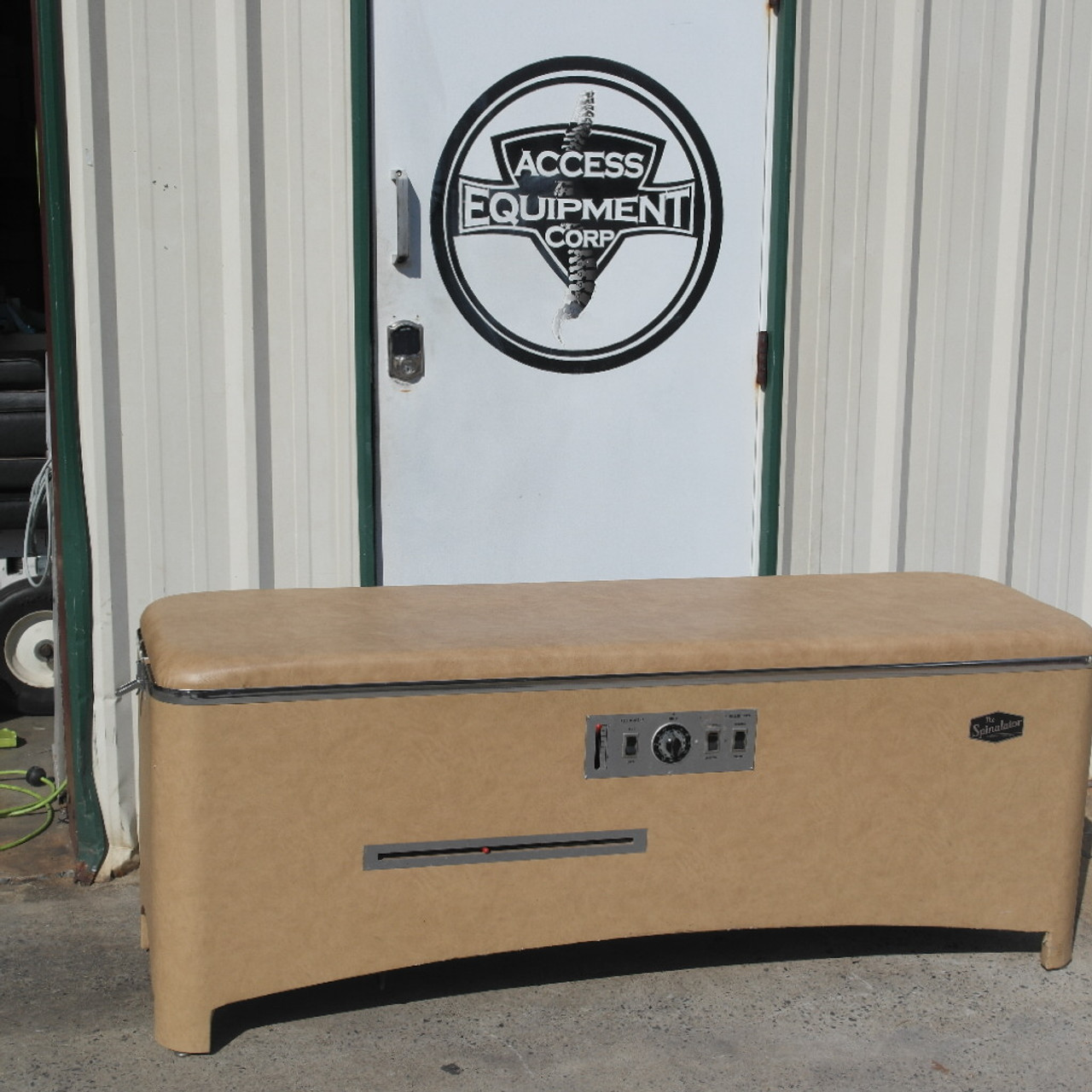 Used Chattanooga Spinalator IST Table -Tan