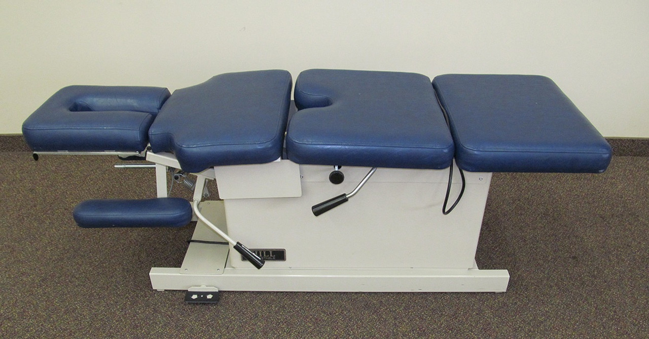 Hill Elevation Table with CD , PD and Spring Breakaway Chest