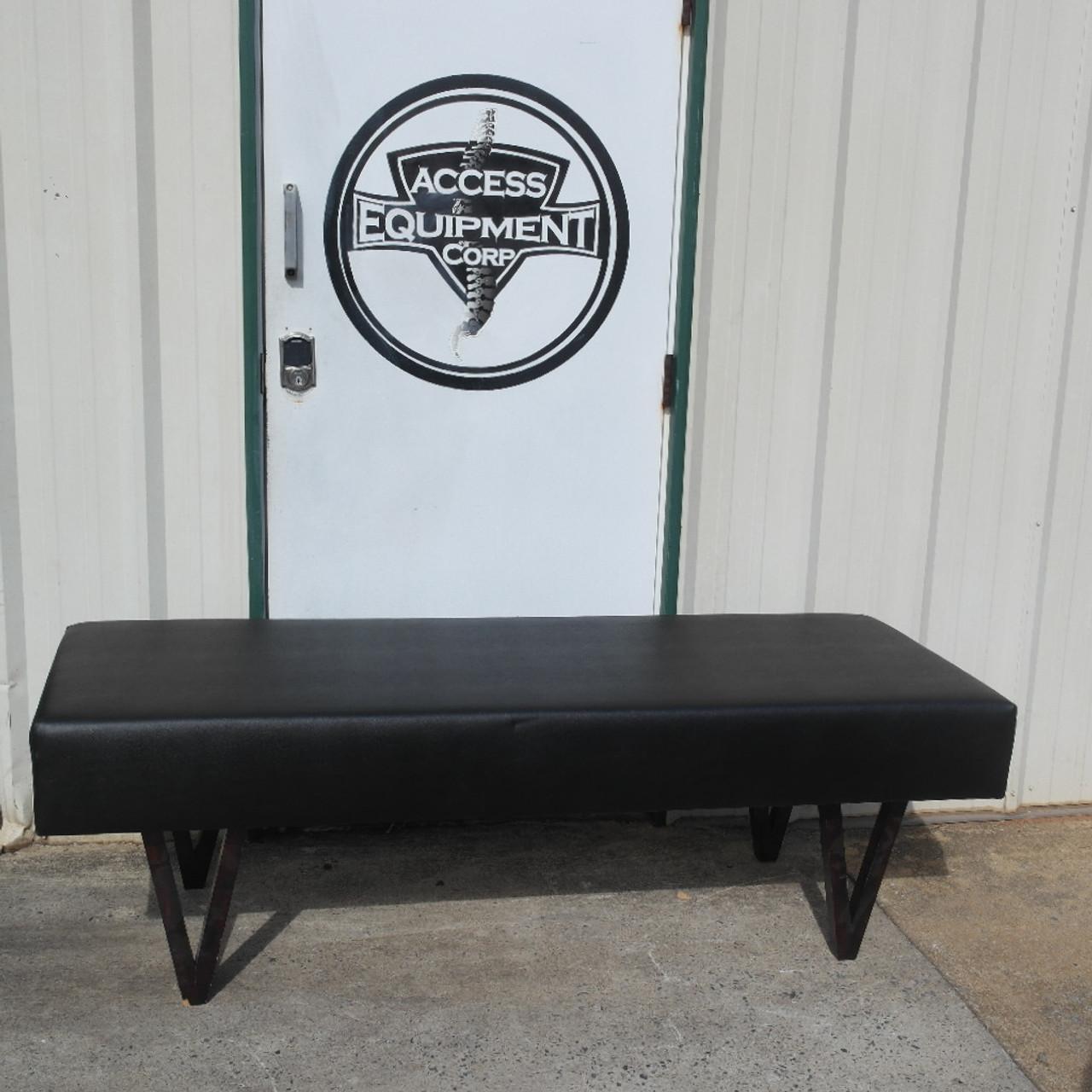 Gonstead  Bench - NEW BLACK UPHOLSTERY