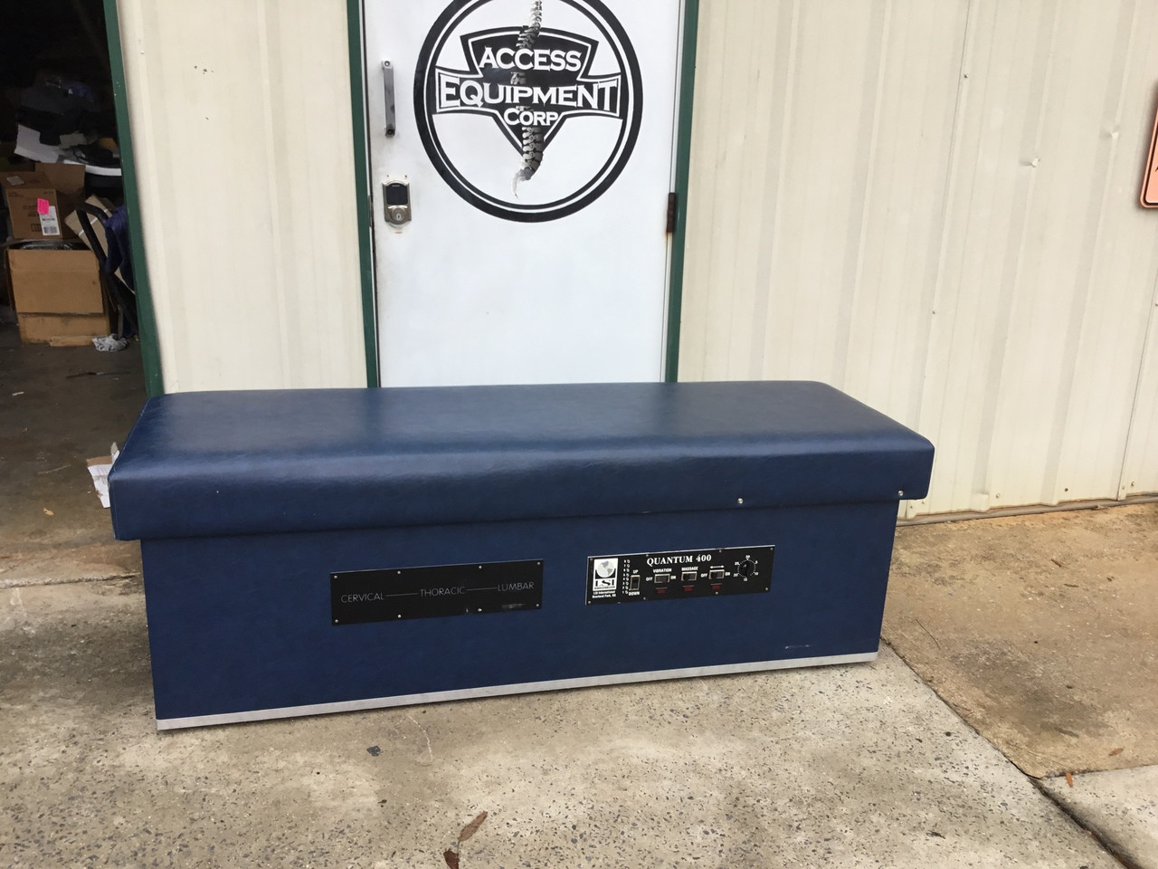 Used Quantum 400  IST Table / EX Wide Top - NAVY