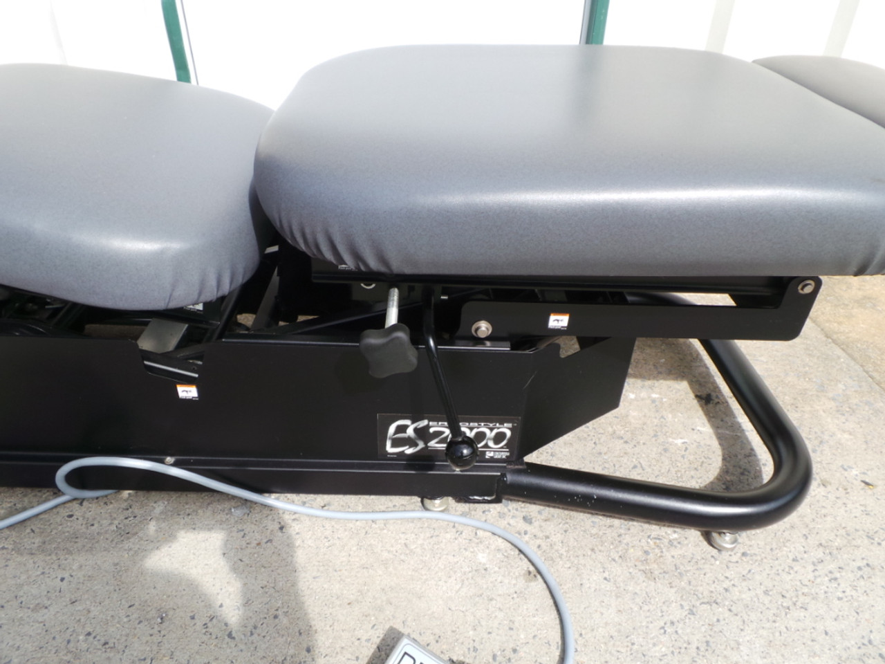 Used Chattanooga ES 2000 Elevation Table-  DD, LD &PD Breakaway Chest