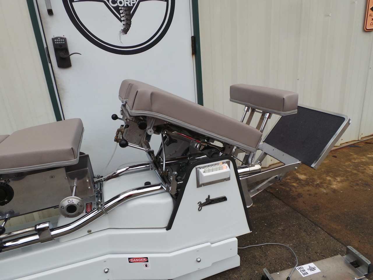 Used Zenith 460F VL Hylo & Elevation Table -Includes Elevating Three Direction PD, Elevating  Ankle