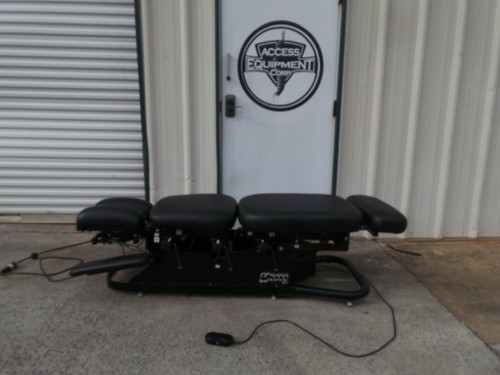 Used Chattanooga ES 2000 Elevation Table- Black Upholstery