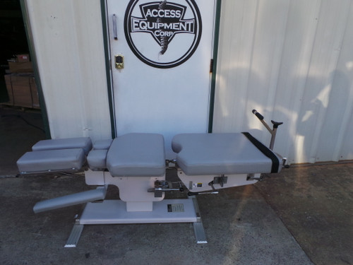 Used Zenith Cox 90 Flexion Table with Tilt Head