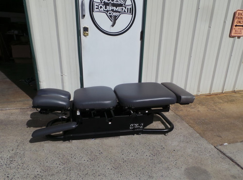Used Chattanooga ES 2000 Elevation Table- CD & PD with Breakaway Chest