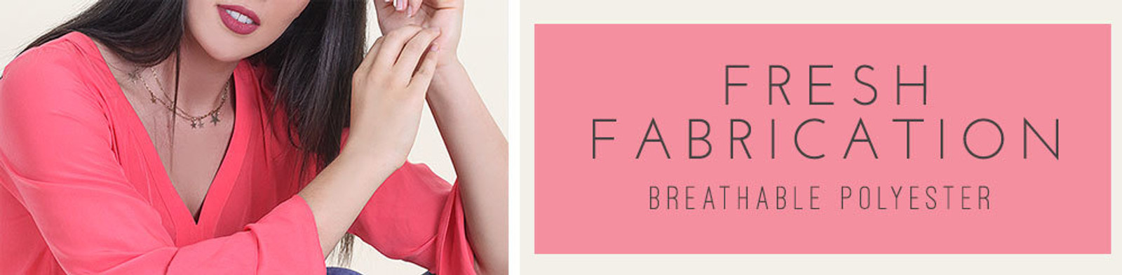 Fresh Fabrication | Breathable Polyester