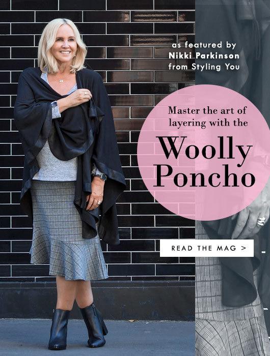 How to Layer like a Boss (aka wear a poncho)