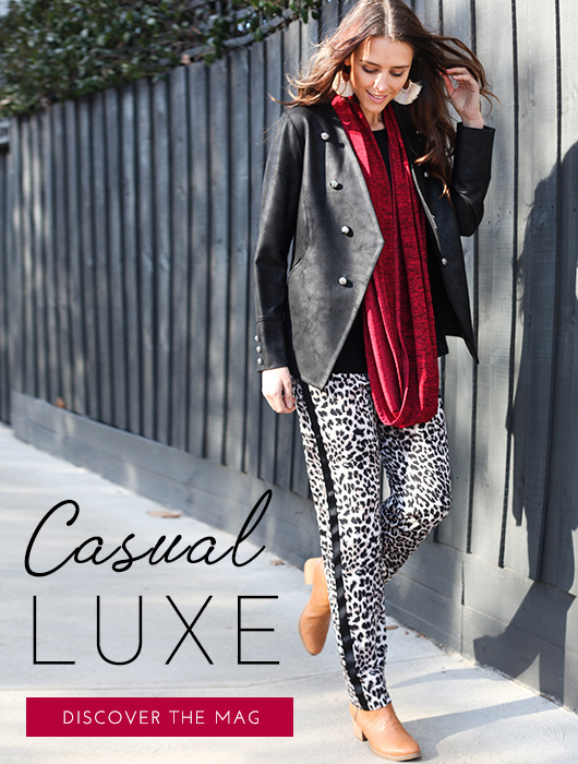 the Casual Luxe Redux
