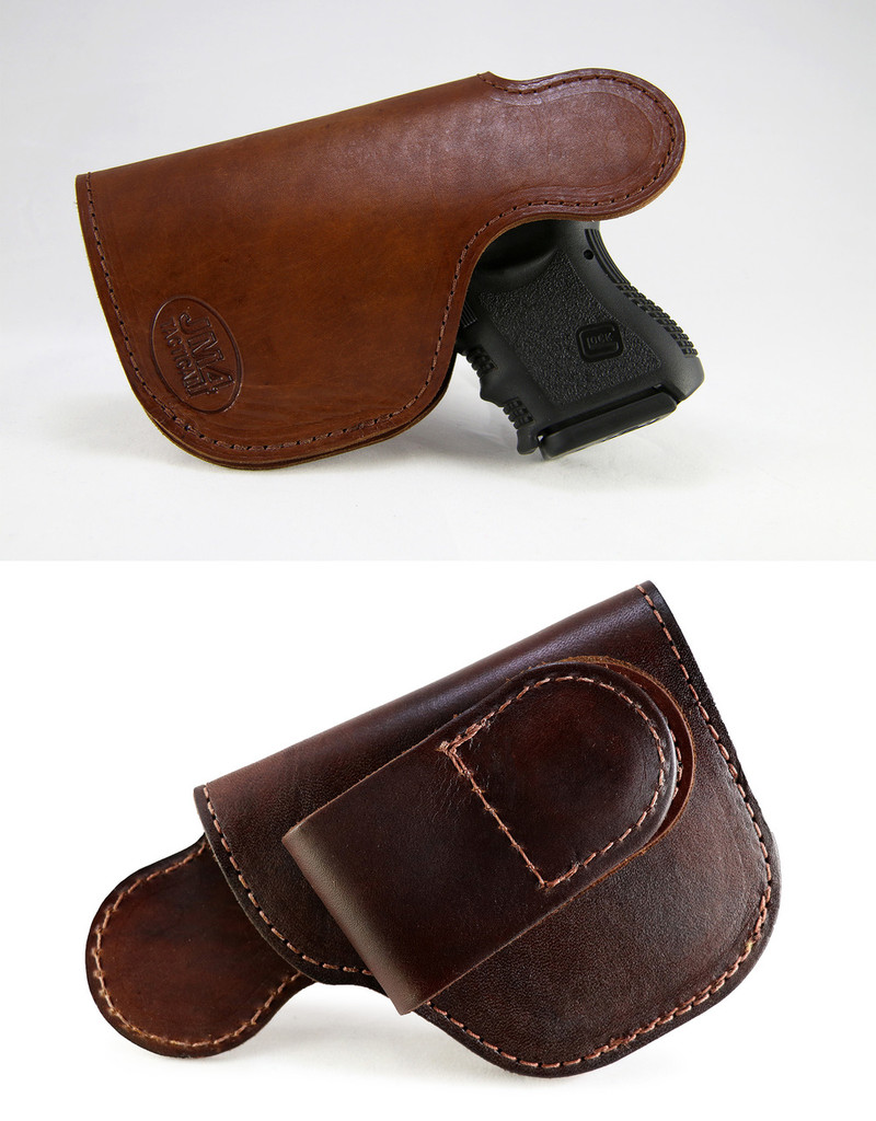 XL Short Tuckable High-Ride Magnetic Quick, Click, & Carry Holster