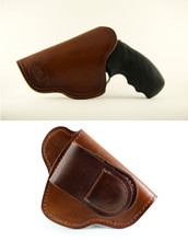 J-Frame (snubnose) Tuckable High-Ride Magnetic Quick, Click, & Carry Holster