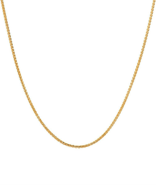 14k. gold rope chain necklace