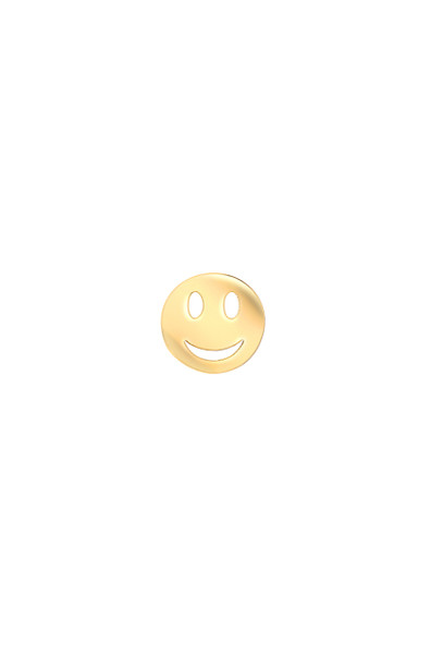14k gold happy emoji