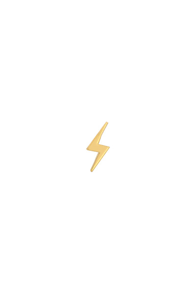 14k gold lightning bolt