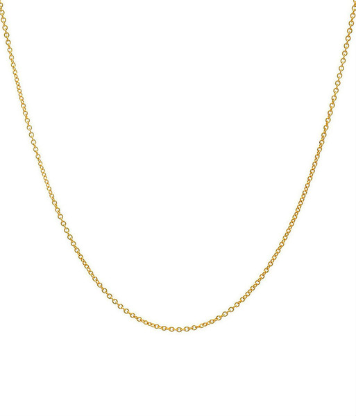 14k. gold chain link necklace