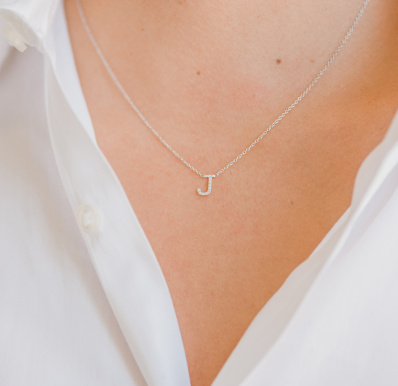 Diamond initial necklace letters by zoe diamond letter necklace diamond initial necklace diamond initial necklace aloadofball Images