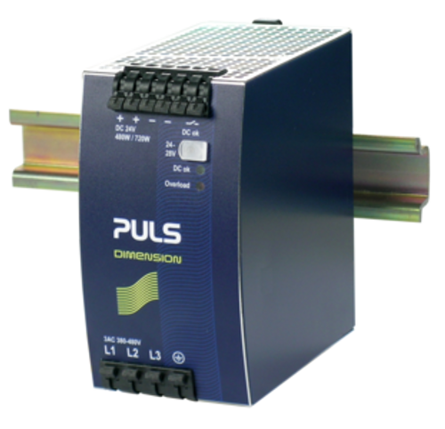 3-PHASE SYSTEM DIN-RAIL POWER SUPPLIES