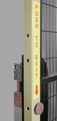 Leuze AC-Exit-PB Stick-on label