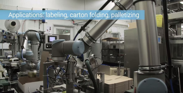 Cobots Take Repetitive Tasks Off Workers' Hands