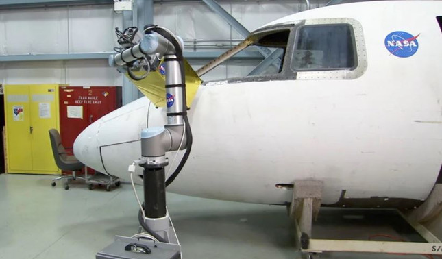 NASA Uses Collaborative Robots for Infrared Inspections