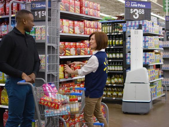 Wal-Mart's Aisle-Roving Robots