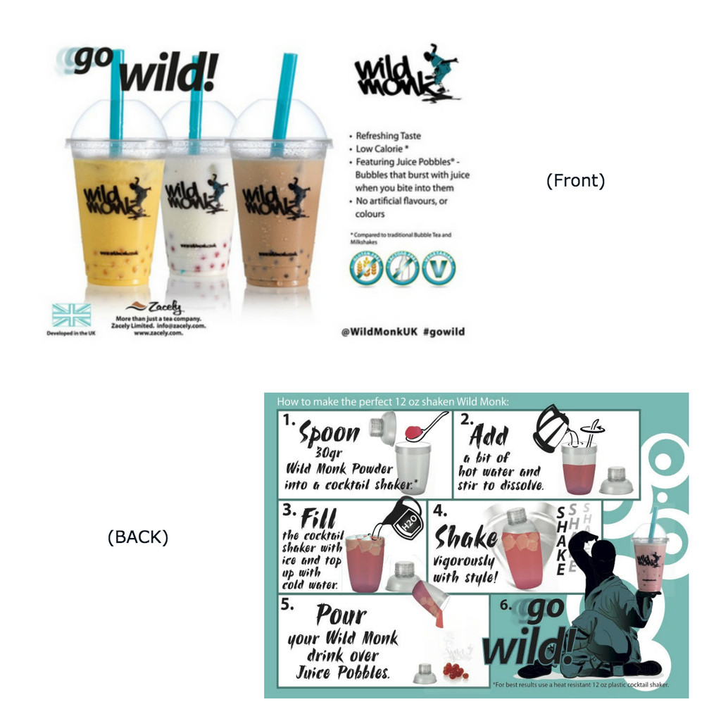 Wild Monk Bubble Tea Pro Kit (FREE TOOLS AND STRAWS) - Classic