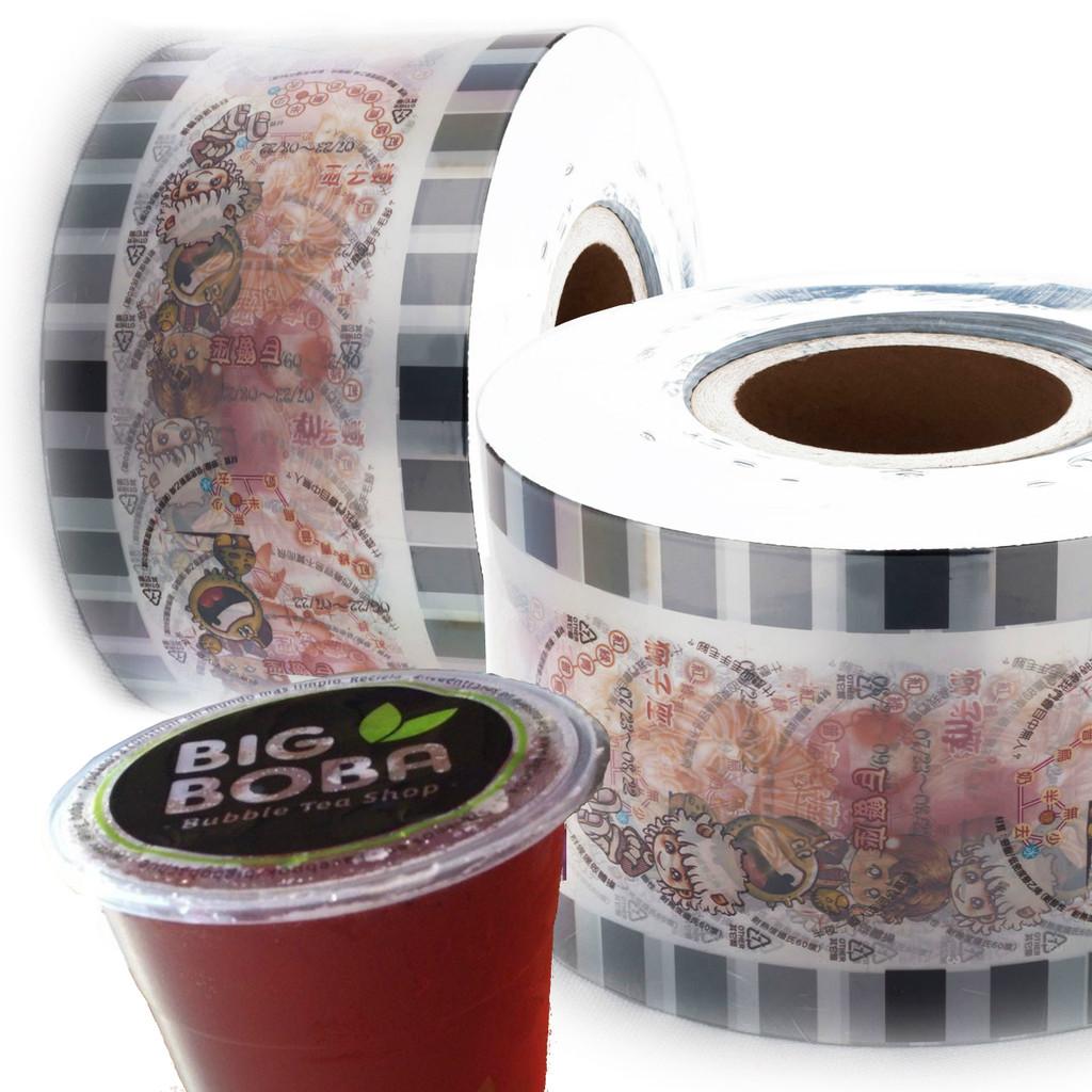 Custom Printed Sealing Film for Bubble Tea Cups