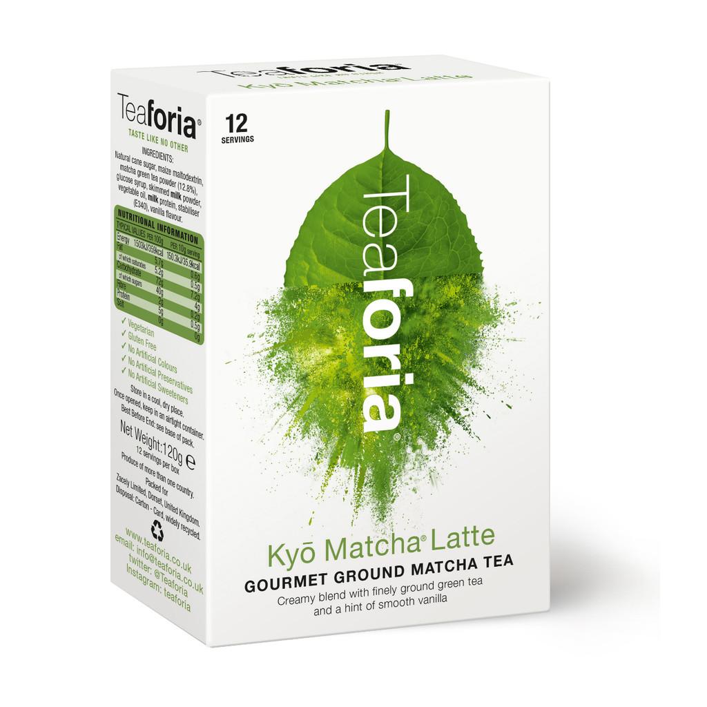 Teaforia Kyō® Matcha Latte (120g)