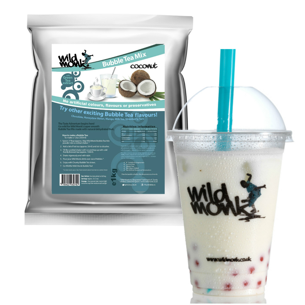 1kg COCONUT Bubble Tea Mix WILD MONK