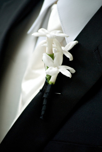 Stephanotis Boutonniere-Pick Up Only
