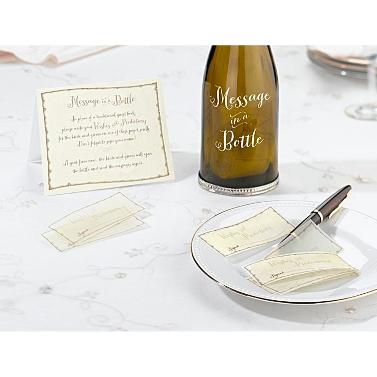 Wedding Message Book Ideas: Wedding Message Signing Papers