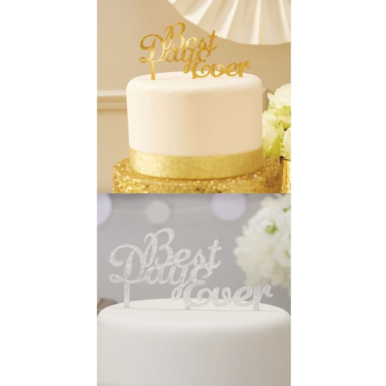 Best Day Ever Wedding Cake Topper | Cake Decorations