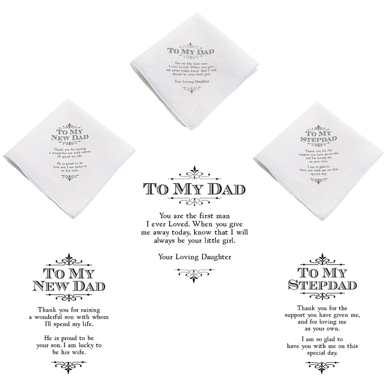 Father of the Bride Hanky | Father of the Bride Gift