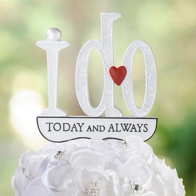 i do wedding cake topper cake decorations