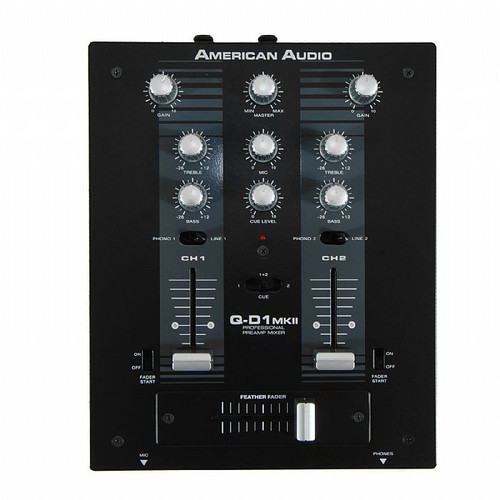American Audio Q-D1 MKII  - Professional preamp mixer