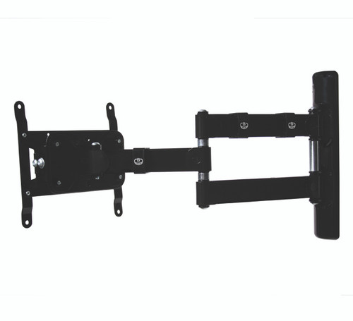 B-Tech BT7515 Double Arm Flat Screen Wall Mount with Tilt and Swivel