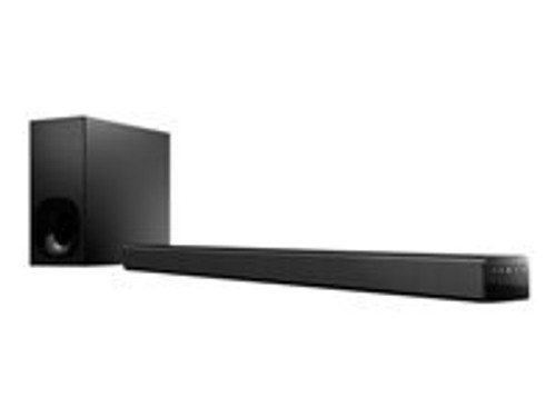 Sony HT-CT180 - Sound bar system - for TV - 2.1-channel - wireless - Bluetooth, NFC - 2-way