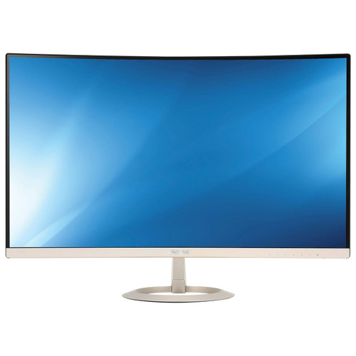 "Asus VZ27VQ 27"" Curved LED Monitor, Colour: Black/Icicle Gold"